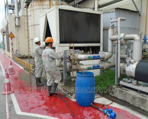 Các loại hóa chất xử lý dùng trong tháp giải nhiệt để ức chế ăn mòn