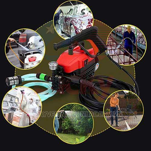 Máy rửa xe  là gì? Ứng dụng và phân loại máy rửa xe