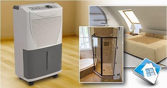 Máy hút ẩm với thiết kế nhỏ gọn, hiện đại phù hợp với nhiều không gian