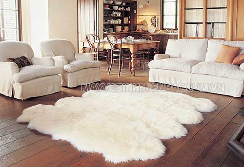 Cách giặt thảm lông cừu sạch sẽ nhanh chóng