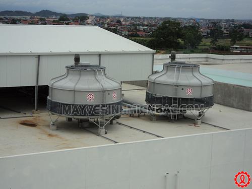 Tháp giải nhiệt đảm bảo hoạt động ổn định của nhà máy, xí nghiệp