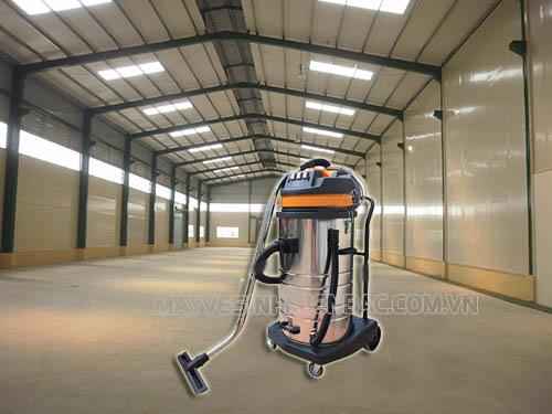 Máy hút bụi 3 motor được ưa chuộng lựa chọn vệ sinh nhà xưởng