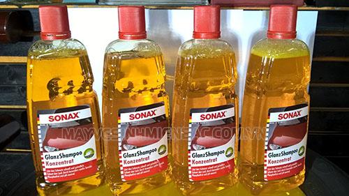 Dung dịch rửa xe Sonaxđược sản xuất theo công nghệ của Đức