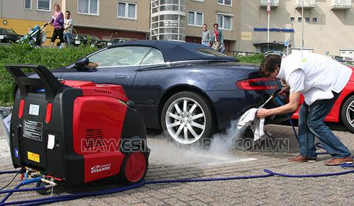 Khi mua máy rửa xe hơi nước nóng người dùng cần chú ý những yếu tố nào?