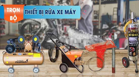 Có phải bạn muốn trang bị bộ thiết bị rửa xe máy cho tiệm của mình?