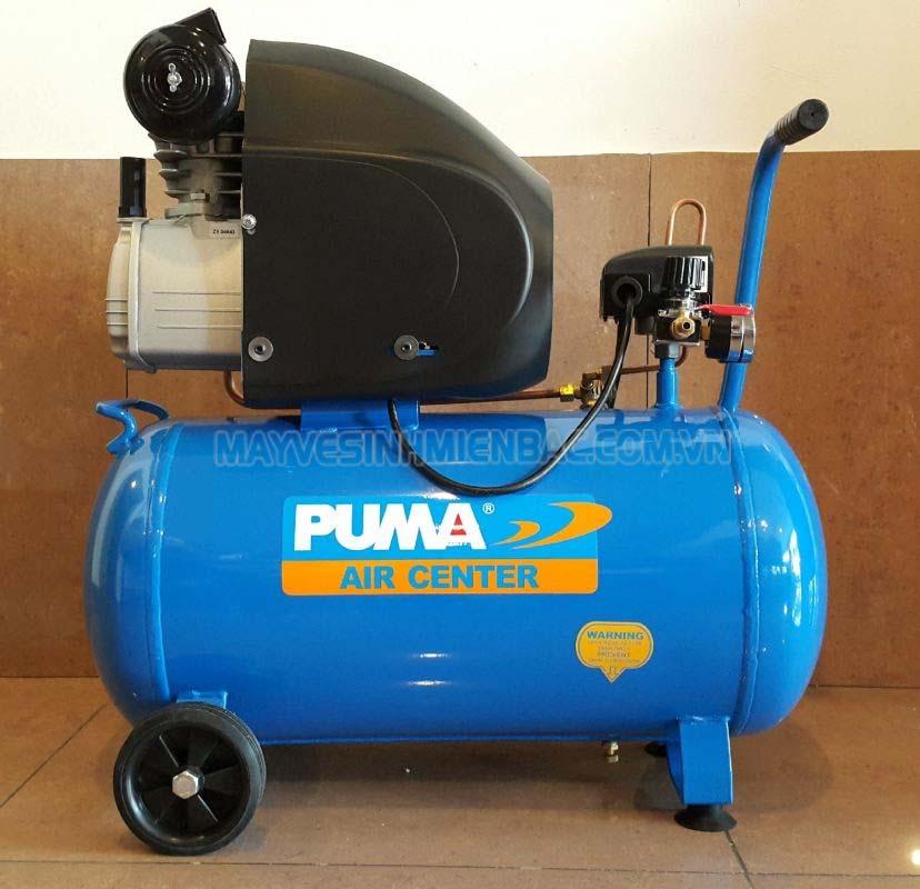 Máy nén khí Puma phù hợp với công việc xịt bụi