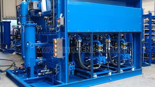 Bộ lọc không khí nén được sử dụng trong thiết bị nén khí