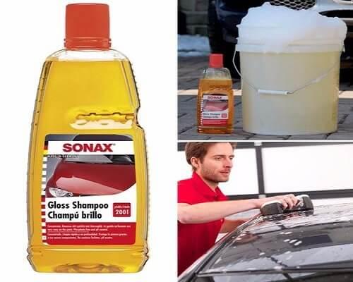 Cách sử dụng nước rửa xe chuyên dụng làm sạch ô tô