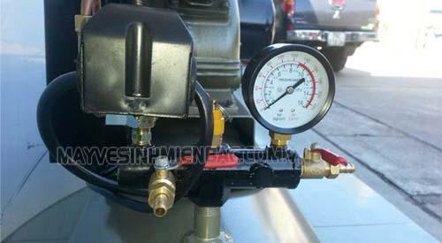 Nên chú ý tới van chỉnh áp suất mỗi khi bảo trì máy