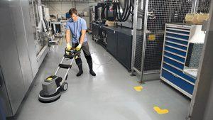 Máy chà sàn là một trong những thiết bị vệ sinh công nghiệp