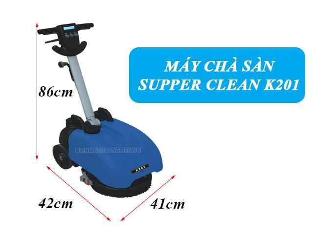 Lý do bạn nên mua máy chà sàn liên hợp mini Supper Clean K201