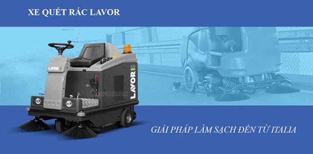 Lavor là thương hiệu thiết bị làm sạch nổi tiếng của Ý