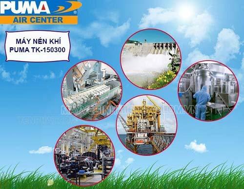 Thiết bị nén khí công nghiệp ứng dụng rộng rãi hiện nay