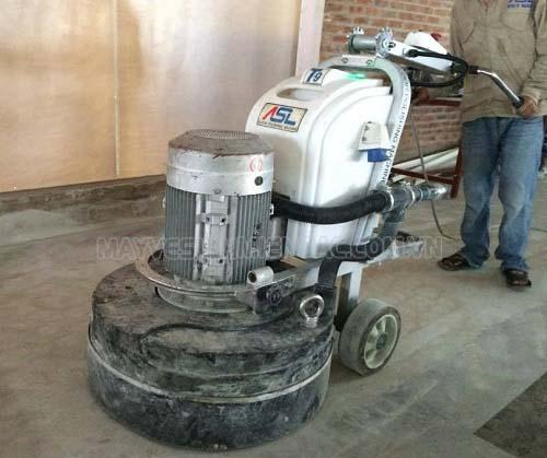 Máy mài sàn bê tông giúp mài phẳng, đánh bóng sàn nhà