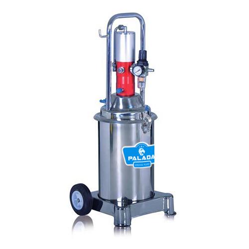 Máy bơm mỡ khí nén thiết kế đơn giản, dễ sửu dụng