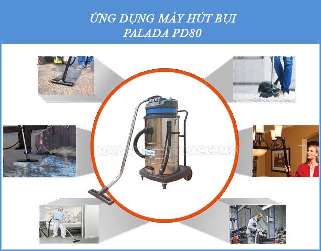 Những ứng dụng của máy hút bụi công nghiệp