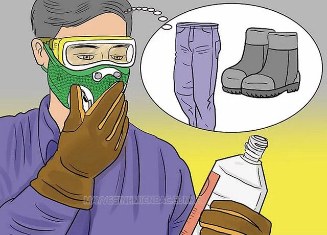 Những lưu ý bắt buộc phải nhớ khi sử dụng hóa chất tẩy rửa công nghiệp
