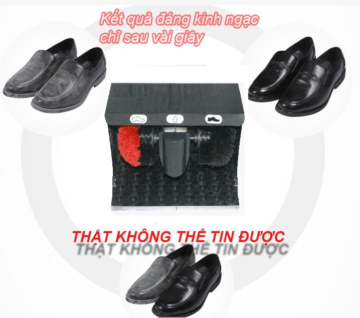 Vì sao máy đánh giày tự động được ưa chuộng?
