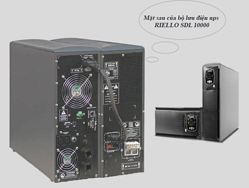 bộ lưu điện ups riello được sử dụng ở rất nhiều nơi