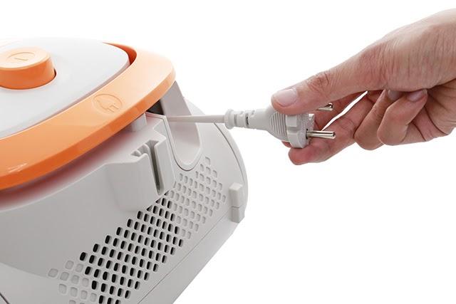 Thu gọn dây điện chỉ bằng 1 thao tác