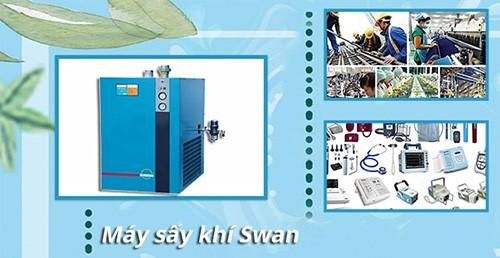 So sánh giá máy sấy khí Swan và các sản phẩm khác