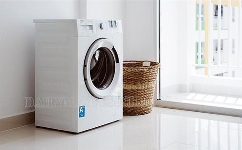 máy giặt vắt kêu to