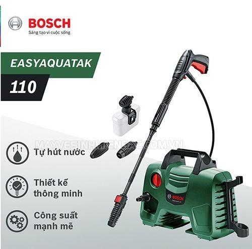 Chia sẻ thông tin chung về dòng máy rửa xe Bosch AQT 110