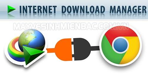 add Idm vào Chrome