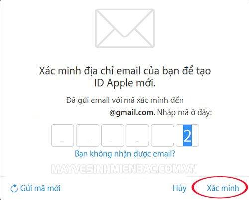 tạo tài khoản id apple miễn phí trên máy tính