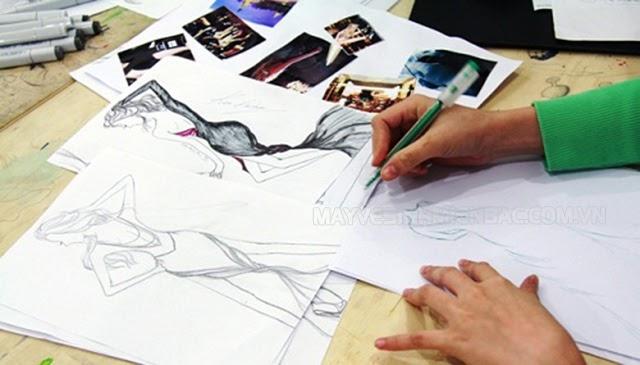 thể hiện ý tưởng của bản thân qua học vẽ