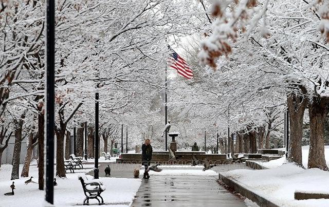 mùa đông ở mỹ là tháng mấy