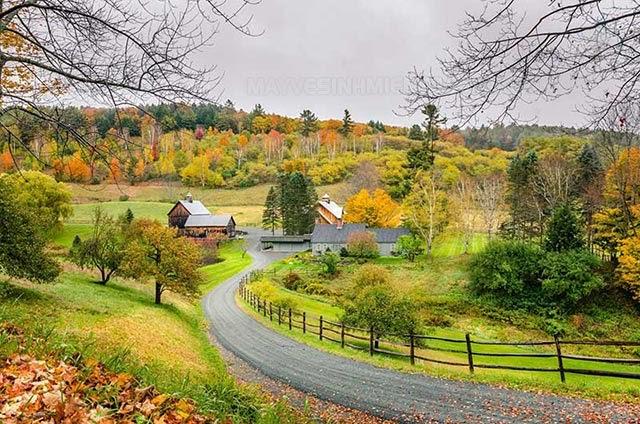 mùa thu ở mỹ bắt đầu từ tháng mấy