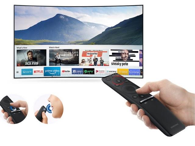 lỗi tìm kiếm bằng giọng nói trên tivi Samsung