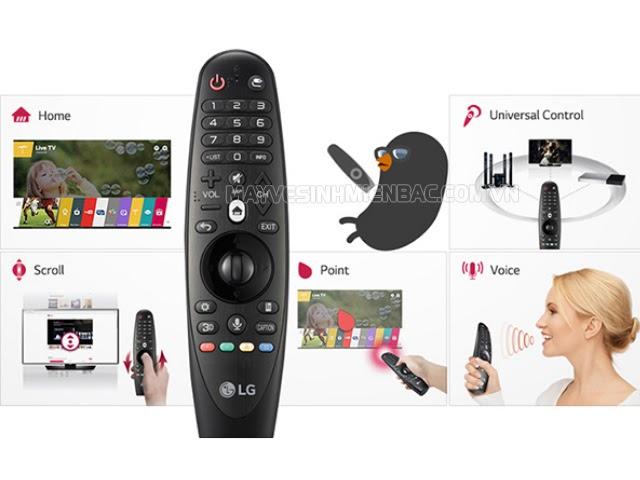 kích hoạt chức năng tìm bằng giọng nói trên tivi LG