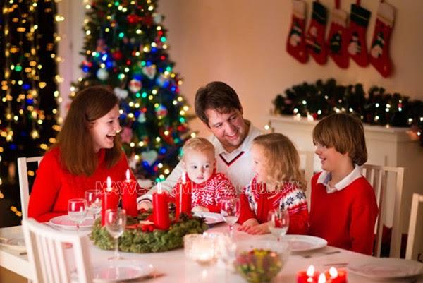lời chúc giáng sinh ý nghĩa cho gia đình