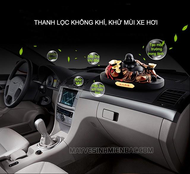 máy khử mùi ô tô có hiệu quả không