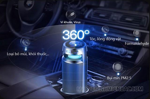 lưu ý khi sử dụng máy khử mùi trong ô tô