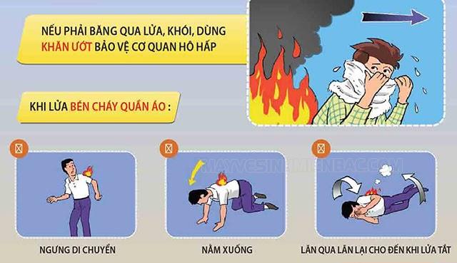 cách xử lý khi gặp hỏa hoạn