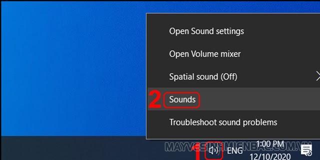 cắm tai nghe vào máy tính không nhận mic