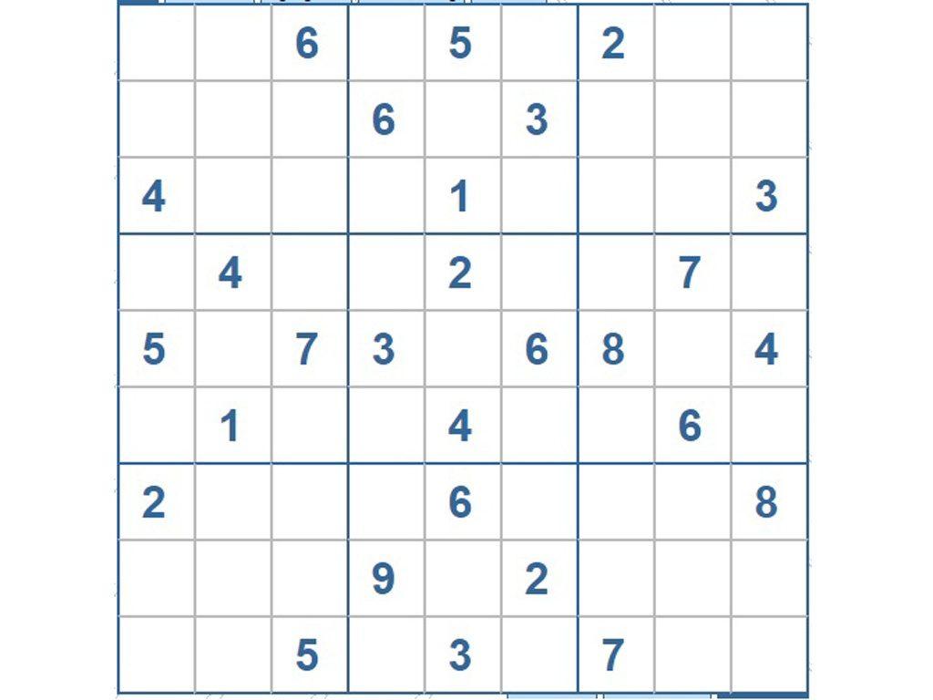 mẹo giải trò chơi sudoku