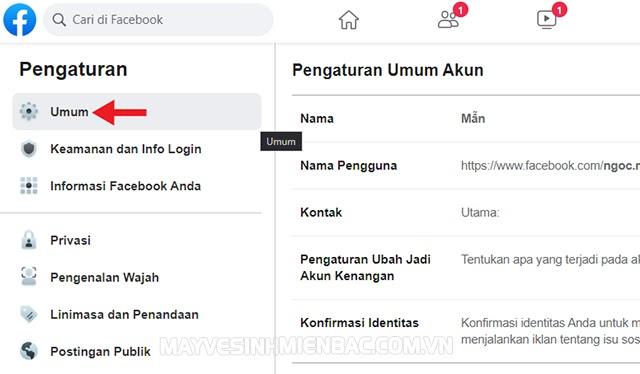 cách đổi tên facebook 1 chữ 2021