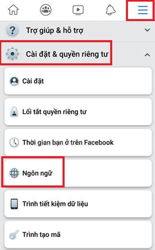 cách đổi tên facebook bằng 1 chữ