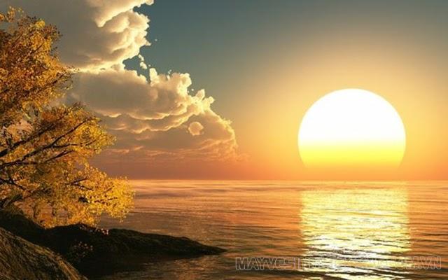 mặt trời mọc hướng nào lặn hướng nào
