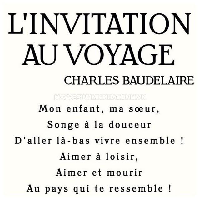 tác phẩm L'invitation au voyage