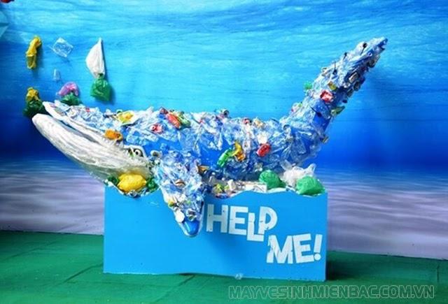 8 triệu tấn rác thải nhựa tuồn ra ngoài Đại dương