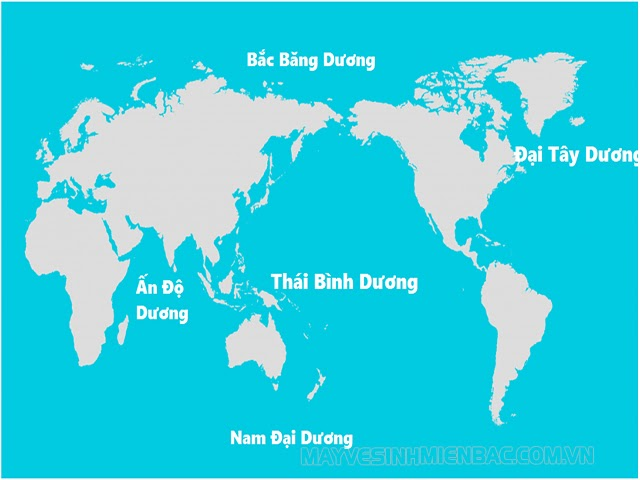 """Trái đất có mấy Đại Dương? Sự thật sau câu nói """"5 châu 4 biển"""""""