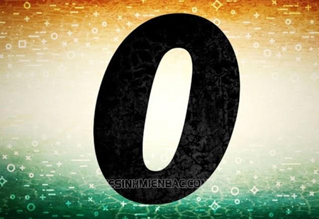 số 0 có ý nghĩa gì