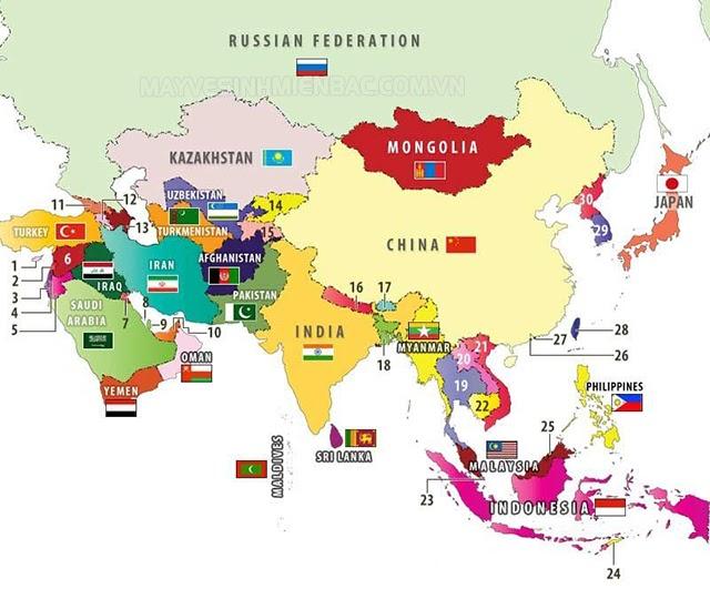 trên thế giới có bao nhiêu quốc gia