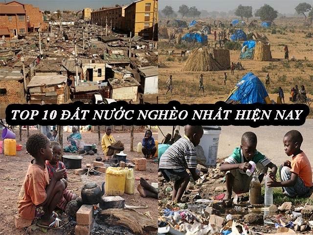 đất nước nghèo nhất thế giới
